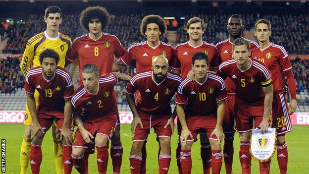 team photo for Belgjikë