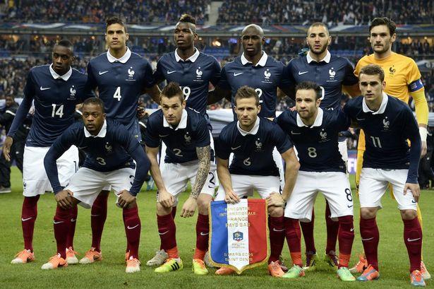 team photo for Francë