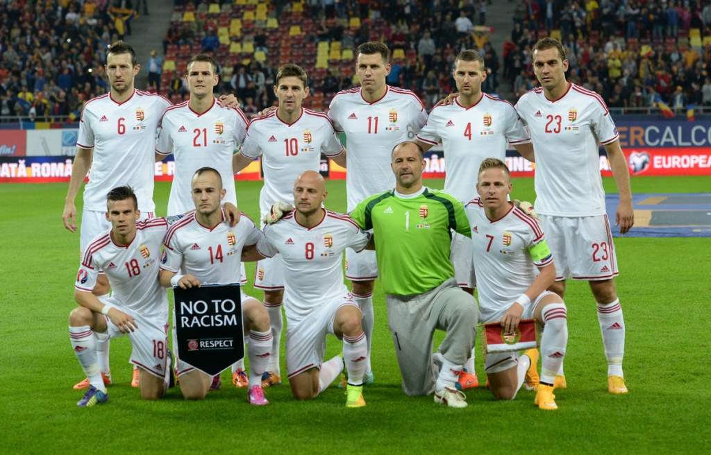 team photo for Hungari