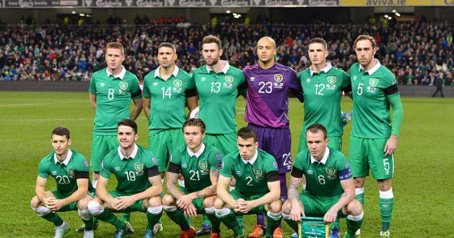 team photo for Irlanda