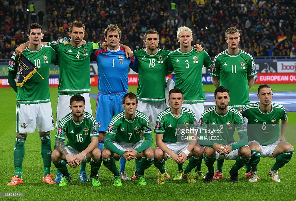 team photo for Irlanda V