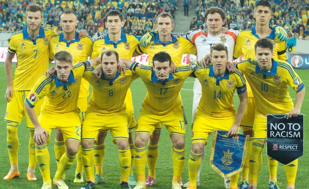 team photo for Ukrainë