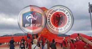 Francë - Shqipëri: Prova e zjarrit për Kuqezinjtë