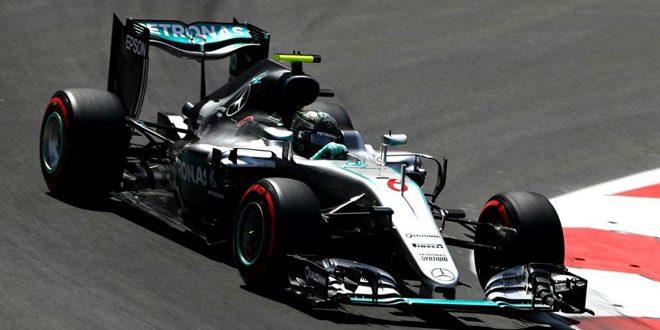 Nico Rosberg - Mercedes, F1