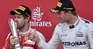 Sebastian Vettel & Nico Rosberg